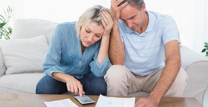 Amerikanische Haushalte leiden unter hoher Schuldenlast durch Kreditkarten